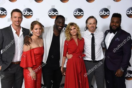 Editorial picture of Disney-ABC, TCA Summer Press Tour, Arrivals, Los Angeles, USA - 06 Aug 2017