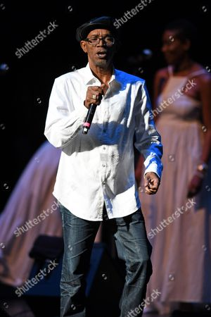 Editorial photo of Beres Hammond in concert at the Broward Center, Fort Lauderdale, USA - 06 Aug 2017