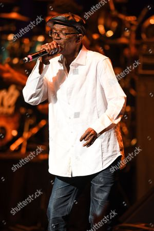 Editorial picture of Beres Hammond in concert at the Broward Center, Fort Lauderdale, USA - 06 Aug 2017
