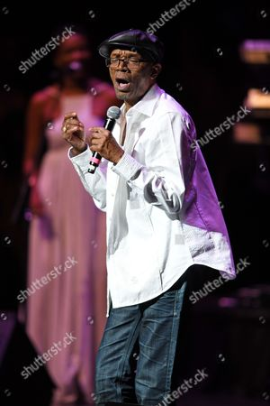 Editorial image of Beres Hammond in concert at the Broward Center, Fort Lauderdale, USA - 06 Aug 2017