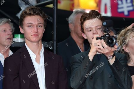 Stock Picture of Sam Holland and Harry Holland
