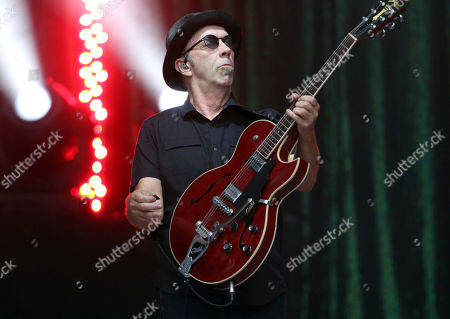 Duke Erikson with Garbage performs during Blondie & Garbage: The Rage and Rapture Tour at Chastain Park Amphitheatre, in Atlanta