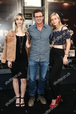 Eric Close and family