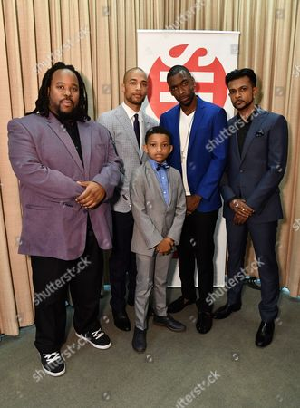 Jacob Ming-Trent, Kendrick Sampson, Lonnie Chavis and Utkarsh Ambudkar and Jay Pharoah