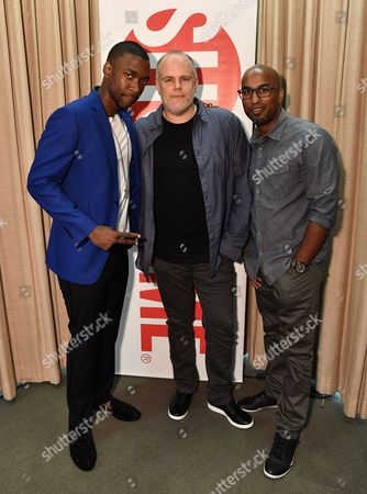 Jay Pharoah, Tom Kapinos and Tim Story