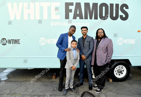 Jay Pharoah, Lonnie Chavis, Utkarsh Ambudkar and Jacob Ming-Trent