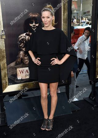 """Alicia Vela-Bailey arrives at the Los Angeles premiere of """"Annabelle: Creation"""" at the TCL Chinese Theatre on"""
