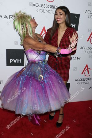 Betsey Johnson and Victoria Justice