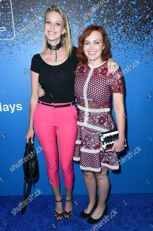 Alicia Malone attends Carpool Karaoke: The Series launch event at the Chateau Marmont Hotel, in Los Angeles