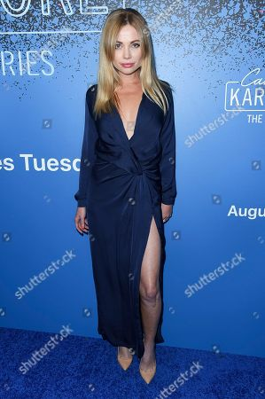 Malea Rose attends Carpool Karaoke: The Series Launch Event at the Chateau Marmont Hotel, in Los Angeles