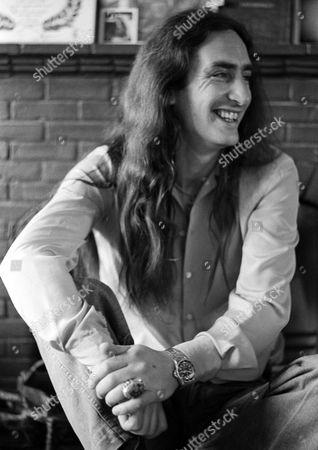 Keyboard player Ken Hensley of Uriah Heep