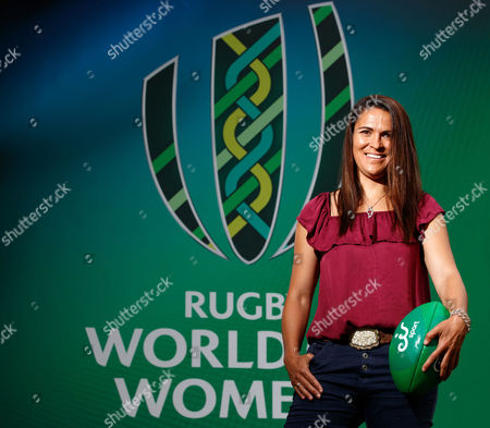 eir Sport Unveil Their Broadcast Team For The Women's Rugby World Cup 2017, UCD, Dublin 8/8/2017. Pictured at the unveiling of the eir Sport broadcast team for its coverage of Women?s Rugby World Cup 2017 were Former Ireland Head Coach Eddie O?Sullivan, recently retired Ireland international Tania Rosser, eir Sport presenters Connor Morris and Des Curran, former Ireland international Sarah Jane Belton and current Ireland international Kim Flood. Rugby lovers will not miss a single minute of the action as eir Sports? coverage of Women?s Rugby World Cup 2017 features every game from the tournament including all Irish games and the final. Ireland?s pool games in the UCD Bowl, Dublin against Australia on 9th August, Japan on 13th August and France on 17th August will all be live on eir Sport. Pictured today is Tania Rosser