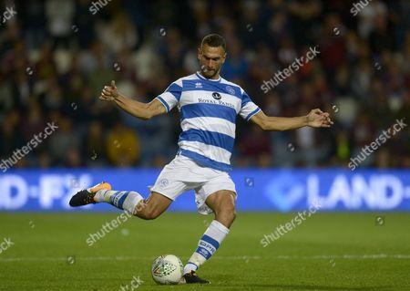 Steven Caulker of QPR in action