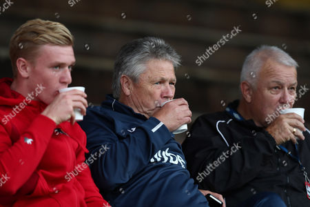 Director of Football for Exeter City, Steve Perryman (c)