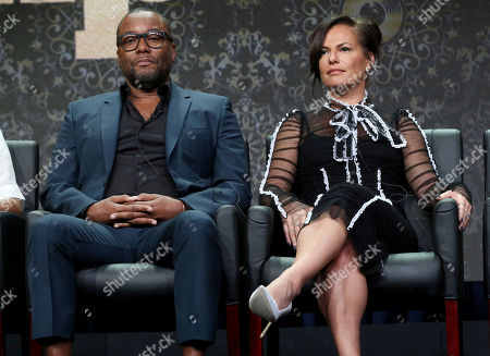 "Lee Daniels, Sanaa Hamri Lee Daniels, left, and Sanaa Hamri participate in the ""Empire"" panel during the FOX Television Critics Association Summer Press Tour at the Beverly Hilton, in Beverly Hills, Calif"