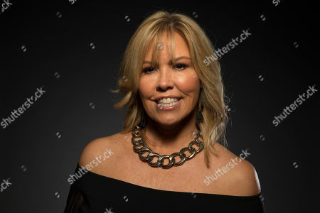 """Mary Murphy, a cast member in the FOX series """"So You Think You Can Dance,"""" poses for a portrait during the 2017 Television Critics Association Summer Press Tour at the Beverly Hilton, in Beverly Hills, Calif"""