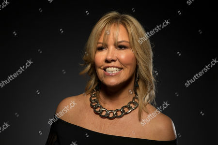 """Stock Image of Mary Murphy, a cast member in the FOX series """"So You Think You Can Dance,"""" poses for a portrait during the 2017 Television Critics Association Summer Press Tour at the Beverly Hilton, in Beverly Hills, Calif"""