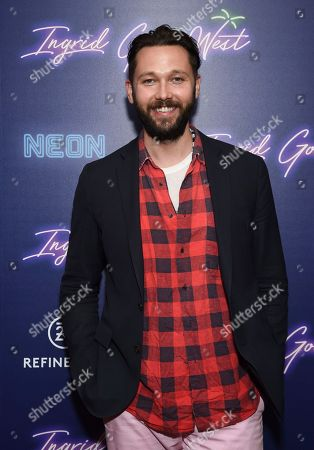 """Designer Chris Benz attends the premiere of """"Ingrid Goes West"""", hosted by Neon and The Cinema Society at the Alamo Drafthouse Cinema, in New York"""