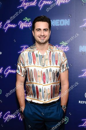"""Director and co-writer Matt Spicer attends the premiere of """"Ingrid Goes West"""", hosted by Neon and The Cinema Society at the Alamo Drafthouse Cinema, in New York"""