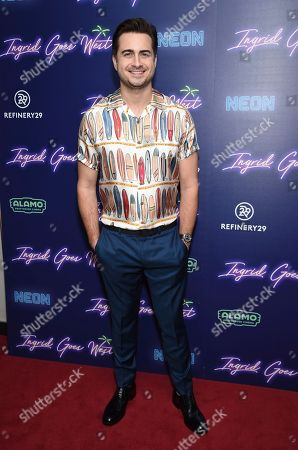"""Director and writer Matt Spicer attends the premiere of """"Ingrid Goes West"""", hosted by Neon and The Cinema Society at the Alamo Drafthouse, in New York"""