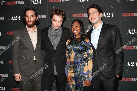 Joshua Safdie (Writer, Director), Robert Pattinson, Taliah Webster and Ben Safdie (Director)