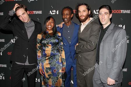 Joshua Safdie (Writer, Director), Robert Pattinson, Taliah Webster, Ben Safdie (Director) and Buddy Duress
