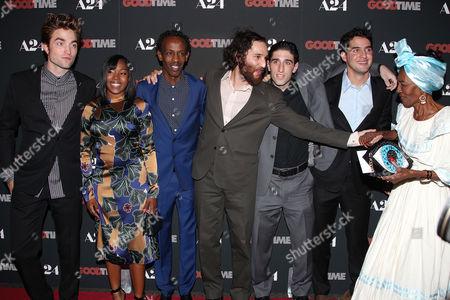 Joshua Safdie (Writer, Director), Robert Pattinson, Taliah Webster, Barkhad Abdi, Ben Safdie (Director) and Buddy Duress