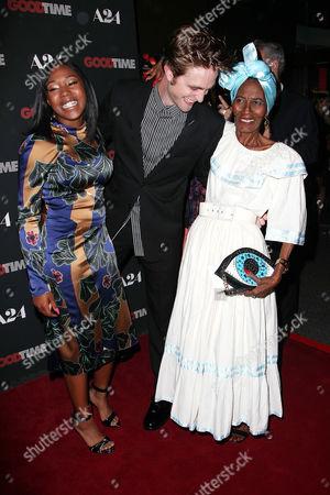 Taliah Webster, Robert Pattinson and Gladys Mathon