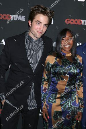 Robert Pattinson and Taliah Webster