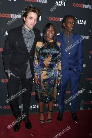 Robert Pattinson, Taliah Webster and Barkhad Abdi