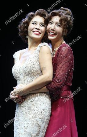 Choi Jung-won and Jeon Soo-kyung