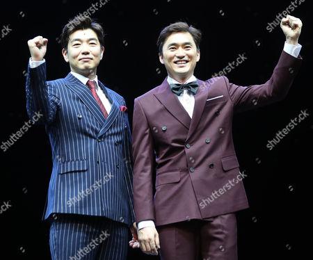 Lee Jong-hyuk and Kim Suk-hoon