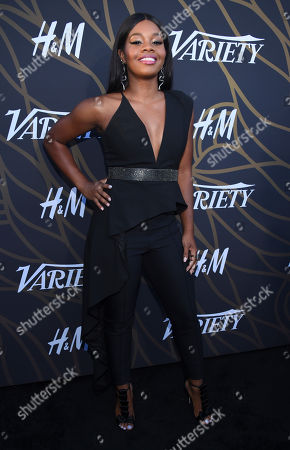 Gabby Douglas attends the 2017 Variety's Power of Young Hollywood event at TAO, in Los Angeles, California