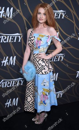 Sarah Hay attends the 2017 Variety's Power of Young Hollywood event at TAO, in Los Angeles, California