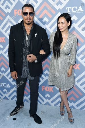 Terrence Howard, Miranda Pak Terrence Howard, left, and Miranda Pak attend the FOX TCA after party at Soho House, in West Hollywood, Calif