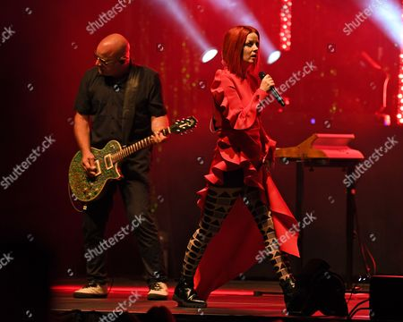 Editorial photo of Garbage in concert at Hard Rock Live, Florida, USA - 08 Aug 2017