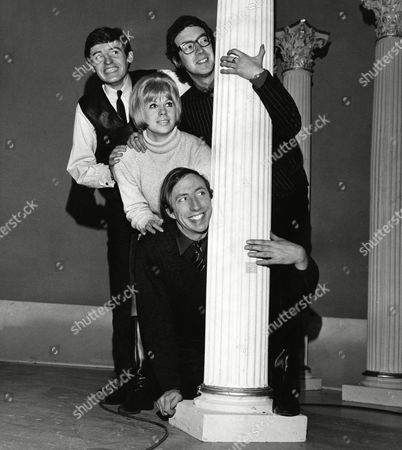 Members Of The Scaffold Mike Mcgear Roger Mcgough John Gorman And Sheila Fearn.