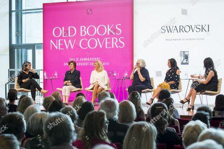 .. Ingrid Thurnher, Helga Rabl-Stadler, Nadja Swarovski, Teri Schwartz, Brita Fernandez Schmidt, Anna Prohaska,