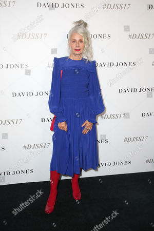 Editorial picture of David Jones show, Arrivals, Spring Summer 2017 collections, Sydney, Australia - 09 Aug 2017