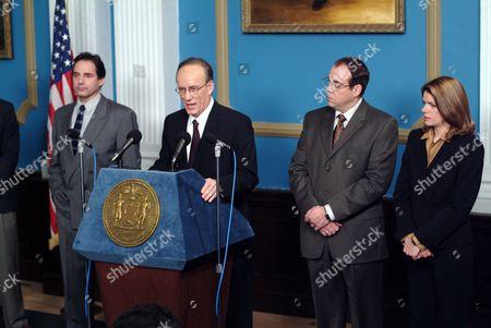 'Rudy: The Rudy Giuliani Story'  TV Film - Rudolph 'Rudy' Giuliani (James Woods) and Tony Carbonetti (Mark Camacho).