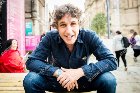 Stock Photo of Comedian Tom Stade at the Gilded Balloon
