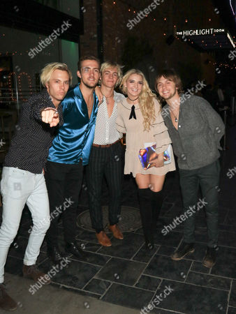 Ross Lynch, Riker Lynch, Rocky Lynch, Rydel Lynch, Ellington Ratliff of R5 band