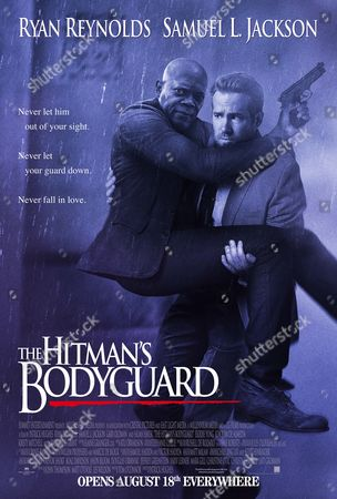 The Hitman's Bodyguard (2017). Poster Art. Samuel L. Jackson, Ryan Reynolds