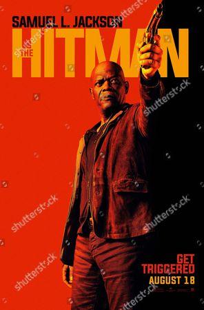 The Hitman's Bodyguard (2017). Poster Art. Samuel L. Jackson