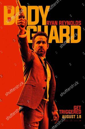 The Hitman's Bodyguard (2017). Poster Art. Ryan Reynolds