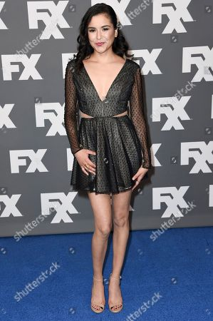 Emily Rios attends the FX Star Walk at the Beverly Hilton Hotel, in West Hollywood, Calif