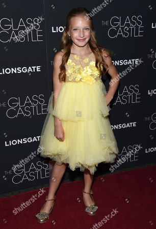 "Olivia Kate Rice attends the premiere of ""The Glass Castle"" at the SVA Theatre, in New York"