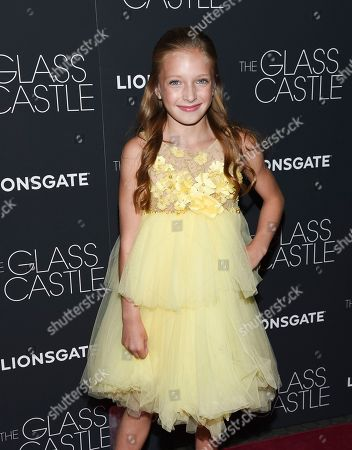 "Actress Olivia Kate Rice attends the premiere of ""The Glass Castle"" at the SVA Theatre, in New York"