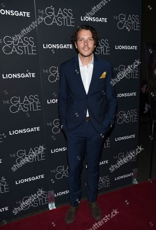 "Composer Joel P. West attends the premiere of ""The Glass Castle"" at the SVA Theatre, in New York"