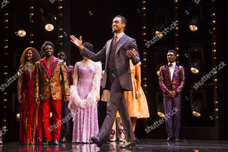 Joe Aaron Reid (Curtis Taylor Jr) during the curtain call